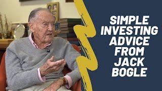 Download Jack Bogle on Index Funds, Vanguard, and Investing Advice Video