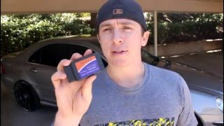 Download OBD II Scanner iPhone App FIRST LOOK - C55 AMG (OBD Fusion) Video