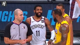 Download Kyrie Irving TAUNTS LeBron James - Lakers vs Nets | January 23, 2020 Video