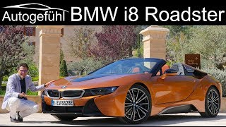 Download BMW i8 Roadster FULL REVIEW - the unconventional supercar convertible - Autogefühl Video