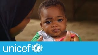 Download When to start feeding your child solid foods | UNICEF Video