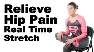 Download Relieve Hip Pain with This Real Time Piriformis Stretch - Ask Doctor Jo Video