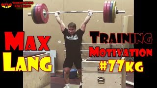 Download Max Lang (GER, 77KG) | Olympic Weightlifting Training | Motivation Video