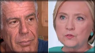 Download ANTHONY BOURDAIN JUST RIPPED OFF HILLARY'S MASK AND SHOWED THE WORLD WHO SHE REALLY IS Video