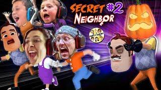 Download HELLO NEIGHBOR PUMPKIN HEAD! 👻 Halloween Hide-n-Seek Secret Neighbor + FGTEEV House Alarm Goes Off Video
