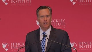 Download Mitt Romney full speech: Donald Trump must not become President Video