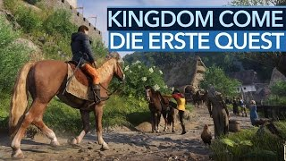 Download Kingdom Come: Deliverance - Die erste Quest in voller Länge [Achtung, Alpha!] Video