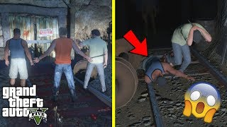 Download GTA 5 - SOMETHING CAUGHT US in The Scary HAUNTED MINESHAFT Video