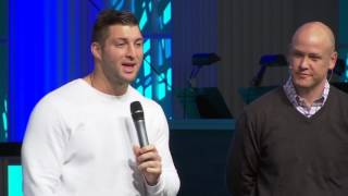 Download Tim Tebow at Family Church Downtown Video