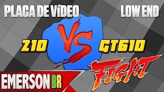 Download Placa de vídeo até R$ 200 - 210 1GB vs GT 610 2GB [Windows 10] Video