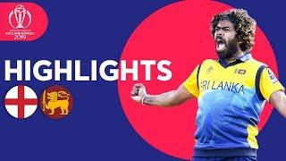 Download Malinga Stars In Big Upset! | England v Sri Lanka - Match Highlights | ICC Cricket World Cup 2019 Video