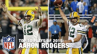 Download Top 10 Aaron Rodgers Highlights of 2015 | NFL Video