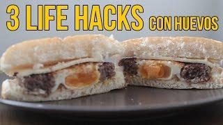 Download 3 Life Hacks con huevos - TIPS de cocina Video