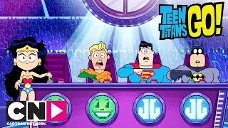 Download Audition pour la Justice League | Teen Titans Go!| Cartoon Network Video