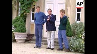 Download UK: PRINCE WILLIAM & PRINCE HARRY AT HIGHGROVE (2) Video