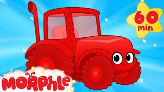 Download My Red Tractor's Farm Day ( +1 hour My Magic Pet Morphle kids videos compilation) Video