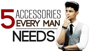 Download 5 Accessories EVERY MAN NEEDS | MUST HAVE Men's Accessories | Mayank Bhattacharya Video