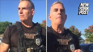 Download Cop fired after claiming a group of black men 'don't belong in my city' Video