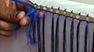 Download Saree Kuchu/tassel using small flower beads- simple tips for beginners Video