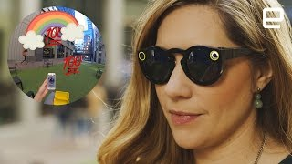Download Snapchat's Spectacles in the real world Video