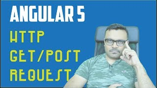Download Angular 4/5 HTTP GET and POST requests tutorial Video