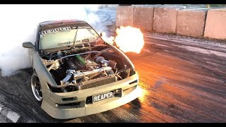 Download Can't stop the RFB REAPER S13! RB Goodness + Huge flames Video