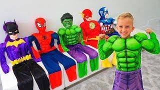 Download Vlad se convirtió en un superhéroe y ayuda a sus amigos Video