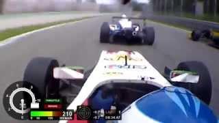 Download Formula Renault 2.0 Alps | On Board Start Race Monza [HD] | Daniele Cazzaniga Video
