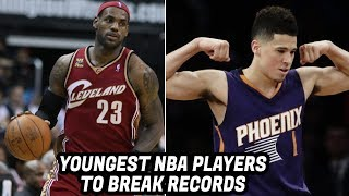 Download YOUNGEST NBA PLAYERS TO HAVE NBA RECORDS! Video