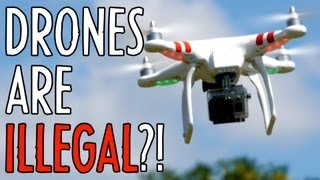 Download Aerial Video is ILLEGAL?! Hands-on: DJI Phantom Quadcopter : Indy News Video