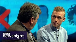 Download Should universities ban controversial speakers? Newsnight Video