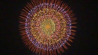 Download Japanese Fireworks 12inch shells etc 【manufacturer Nomura-Hanabi】Ibaraki festival Fireworks【4K】 Video