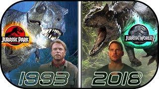 Download EVOLUTION of Jurassic Park MOVIES (1993-2018) History of jurassic world 2 fallen kingdom Video
