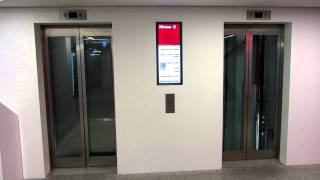 Download Shopping mall Schindler elevators Video