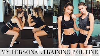 Download My WORKOUT ROUTINE | What I Do With my Trainer! Video