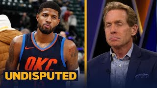 Download Skip Bayless felt sorry for Paul George during OKC's 100-95 win over the Pacers | UNDISPUTED Video