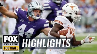 Download Texas vs. Kansas State | FOX COLLEGE FOOTBALL HIGHLIGHTS Video
