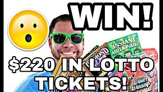 Download SAVED AT THE END! Chase round 2! $220 in Texas Lottery scratch off tickets! Video