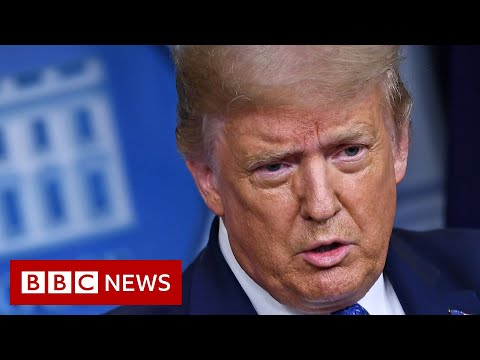 Trump: Americans should walk city streets free from violence and fear - BBC News