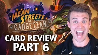 Download (Hearthstone) Mean Streets of Gadgetzan: Card Review Part 6 Video