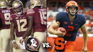Download Florida State vs. Syracuse Preview: An Atlantic Duel In The Dome Video