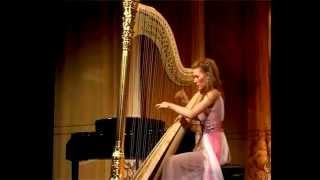 Download Erdely International Harp Competition Winner's concert. Vasilisa Lushchevskaya ZABEL Fantaisie Video