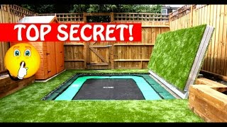 Download Most Amazing Trampolines Ever!! Secret Trampoline?! Part 1 Video
