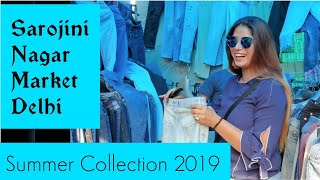 Download Sarojini Nagar SUMMER Collection 2019 || sarojini nagar market (sn) South delhi ||a shopping day|| Video