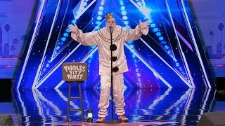 Download America's Got Talent 2017 Puddles Pity Party From Out of Nowhere Full Audition S12E01 Video