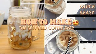 Download HOW TO MAKE THE BEST ICED COFFEE EVER! QUICK, EASY & VEGAN RECIPE♡ Video