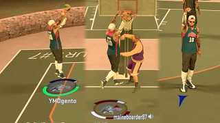 Download NBA 2k17 MyPARK - Angry Trash Talking Kid Bullying Team + Crazy Ending!! Road to Legend Ep 8 Video