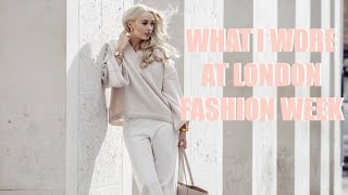 Download WHAT I WORE AT LONDON FASHION WEEK - 5 Outfit Pre-Spring Lookbook | Fashion Mumblr Video