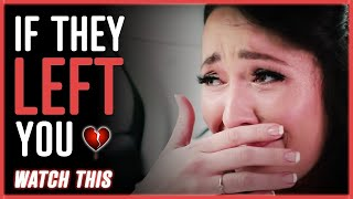 Download If They Left You - WATCH THIS   by Jay Shetty Video