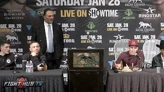 Download The Carl Frampton vs Leo Santa Cruz 2 FULL Post Fight Press Conference Video Video